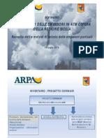 ARPA 2015 INVENTARIO EMISSIONI IN SICILIA Presentazione Genovese