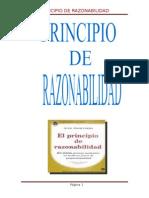 Principio de Razonabilidad.terminado 22 de Julio Del 2015