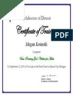 pgc certificate