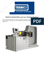 TRANCO Model SDH 1452 Core-Winding Machine