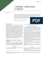 Phlébologie esthétique  phlébectomie hors membre inférieur.pdf