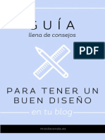 Guia Para Tener Un Buen Diseño en Tu Blog Misslavanda