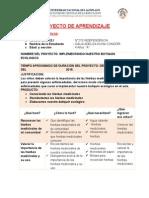 PROYECTO DE APRENDIZAJE JORNADA PEDAGOGICA  N° 08 miercoles