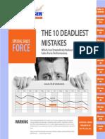The Ten Deadliest Mistakes in Sales