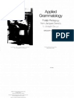 Gregory L. Ulmer Applied Grammatology