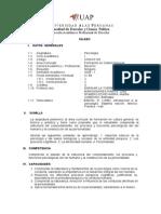 Syllabus Psicologia i Derecho Uap