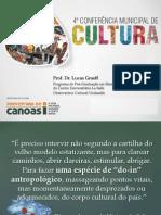 Conferência Municipal de Cultura de Canoas/RS