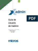Manual Xadmin FRDs