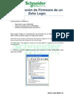 Actualización de Firmware de Un Zelio Logic