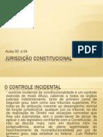 Jurisdição Constitucional - Aulas 03 e 04