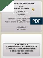 Modelos de Evaluación Psicologica