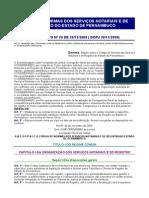 Código de Normas Dos Servicos Notarias e Registro