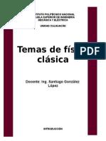 Temas de física clásica Esime primer semestre