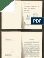 JAIME ALAZRAKI La Prosa Narrativa de Jorge Luis Borges