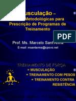 Ms Marcelo Sant'Anna - Metodologia e Programas de Treinamento