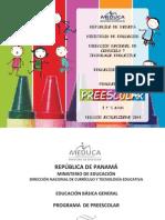 PREESCOLAR 2014 programa