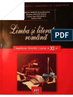 Manual Lb Română XI