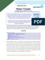 Water Feeder Jan Feb2010