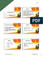 Indices de Seleccion Matrices