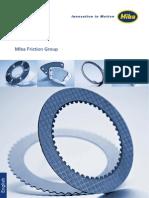 Miba Friction Parts
