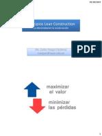 Productividad en la Construcción