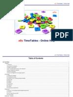 Asc Timetables en L4