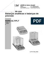 balança analitica uso e manutençao
