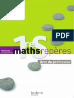 Maths Repères 1ère S (2011)