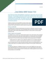 Datasheet Cisco BusinessEdition6000