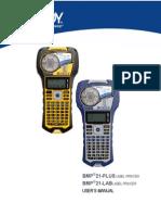 Bmp21 Plus User Manual