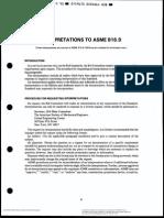 ASME B16.9 Interpretation