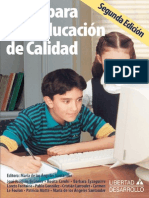 Libro Ideas Para Una Educacion de Calidad 2a Ed Agosto2006