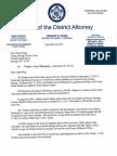 Letter From DA Oakes