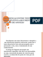 Diferenasentretextodissertativo Argumentativoeartigodeopinio 140605112005 Phpapp02