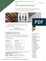 Belajar Bahasa Arab Untuk Orang Indonesia_ 07