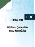 Exercícios Método Das Quadrículas e Curva Hipsométrica