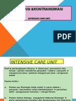 Indikasi & Kontraindikasi ICU