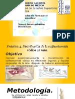 Distribución de Fármacos