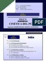 Tema 15 Cinetica Del Punto
