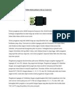 Tipe Pengapian CDI Ac Dan Dc pada sepeda motor
