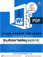 Apache Poi Word Tutorial
