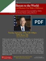 LTG Talley Flyer Global Threats