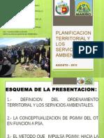 Planificacion Territorial y Los Servicios Ambientales