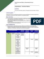 VIPFE Modificaciones Presupuestarias
