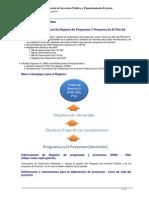 VIPFE-Registro de Proyectos