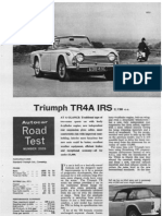 Autocar May 1965 - Triumph TR4A IRS