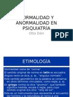 Clase Otto Dörr_normalidad y Anormalidad en Psiquiatría