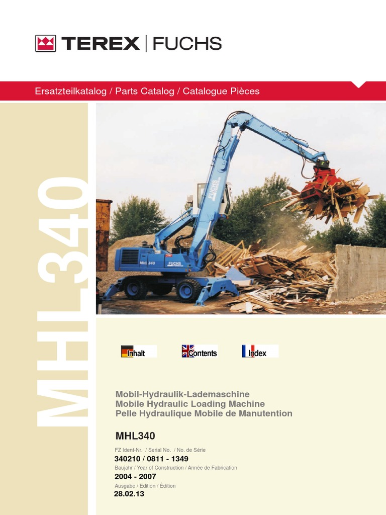 MHL340 (Serial Number 0811-1349)