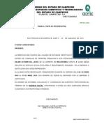 Carta Present Acept. Convenio SERV.sociAL