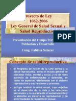ley de salud sexual